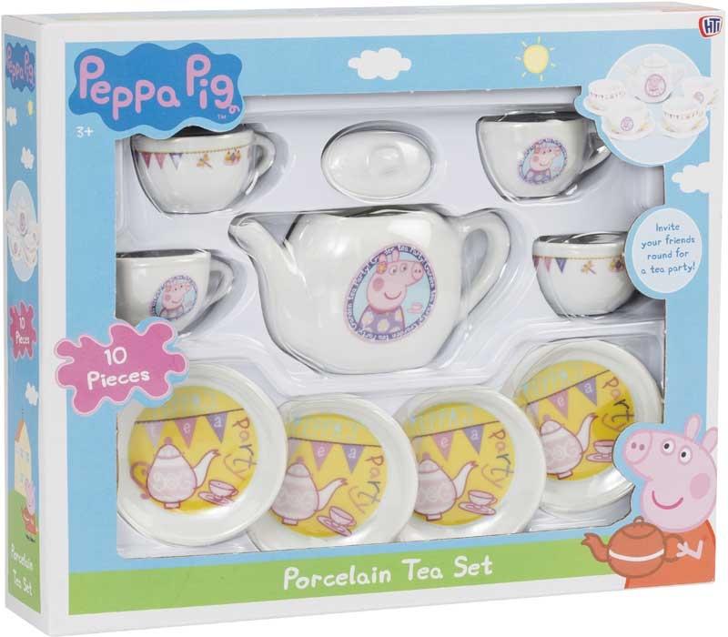 Wholesalers of Peppa Pig Porcelain Tea Set toys