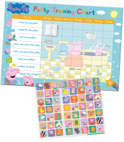 Wholesalers of Peppa Pig Potty And Toilet Reward Chart And Stickers toys image 2