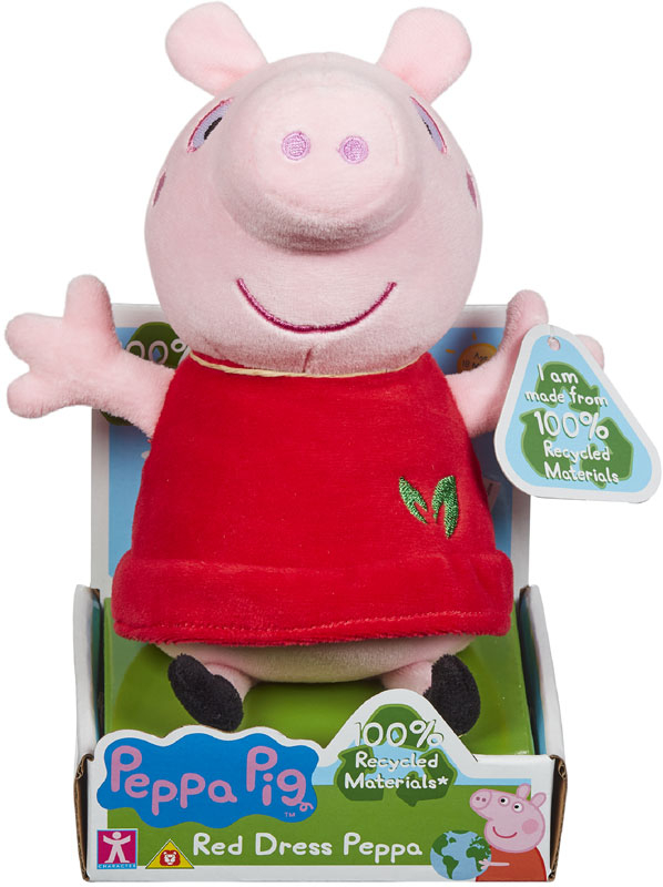 Wholesalers of Peppa Pig Red Dress Peppa toys