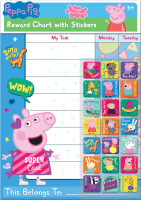 Wholesalers of Peppa Pig Reward Chart And Stickers toys image