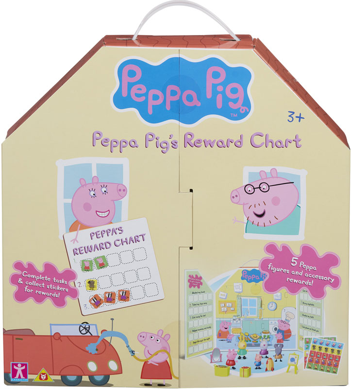Wholesalers of Peppa Pig Reward Chart Figure And Accessory Pack toys