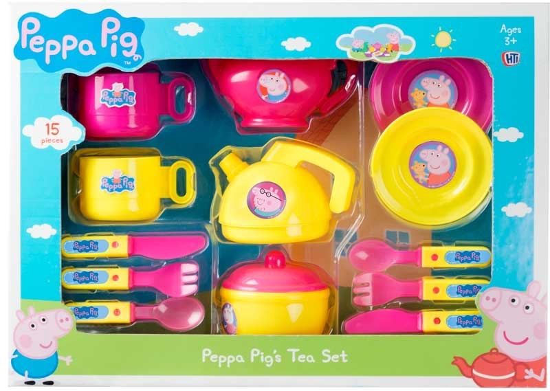 Wholesalers of Peppa Pig Small Tea Set toys