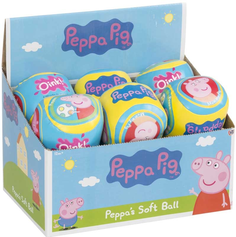 Wholesalers of Peppa Pig Soft Ball toys