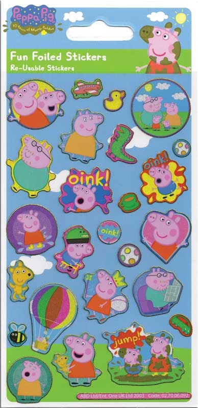 Wholesalers of Peppa Pig Stickers toys
