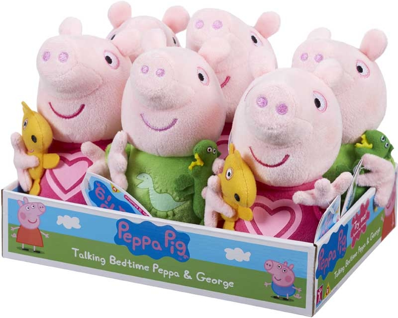 Wholesalers of Peppa Pig Talking Bedtime Peppa And George toys