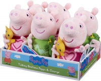 Wholesalers of Peppa Pig Talking Bedtime Peppa And George toys image