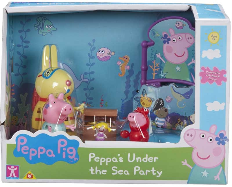 Wholesalers of Peppa Pig Theme Playset Asst toys