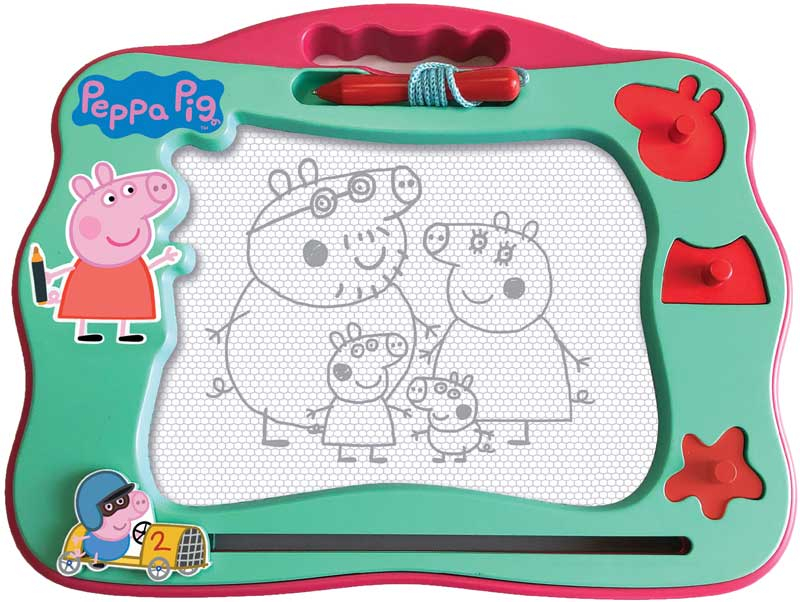 Wholesalers of Peppa Pig Travel Magnetic Scribbler toys