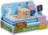 Wholesalers of Peppa Pig Wooden Boat toys image
