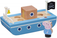 Wholesalers of Peppa Pig Wooden Boat toys image 2