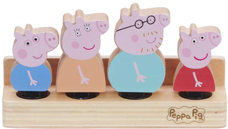 Wholesalers of Peppa Pig Wooden Family Figures toys