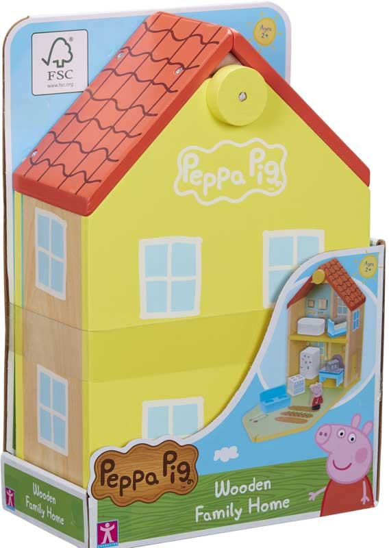 Wholesalers of Peppa Pig Wooden Family Home toys
