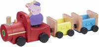 Wholesalers of Peppa Pig Wooden Grandpa Pigs Train toys image 2