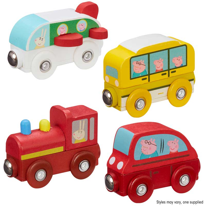 Wholesalers of Peppa Pig Wooden Mini Vehicles toys
