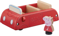 Wholesalers of Peppa Pig Wooden Red Car toys image 2