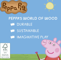 Wholesalers of Peppa Pig Wooden Red Car toys image 3