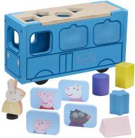 Wholesalers of Peppa Pig Wooden School Bus toys image