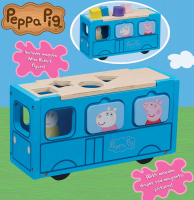 Wholesalers of Peppa Pig Wooden School Bus toys image 2