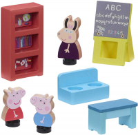 Wholesalers of Peppa Pig Wooden Schoolhouse toys image 2