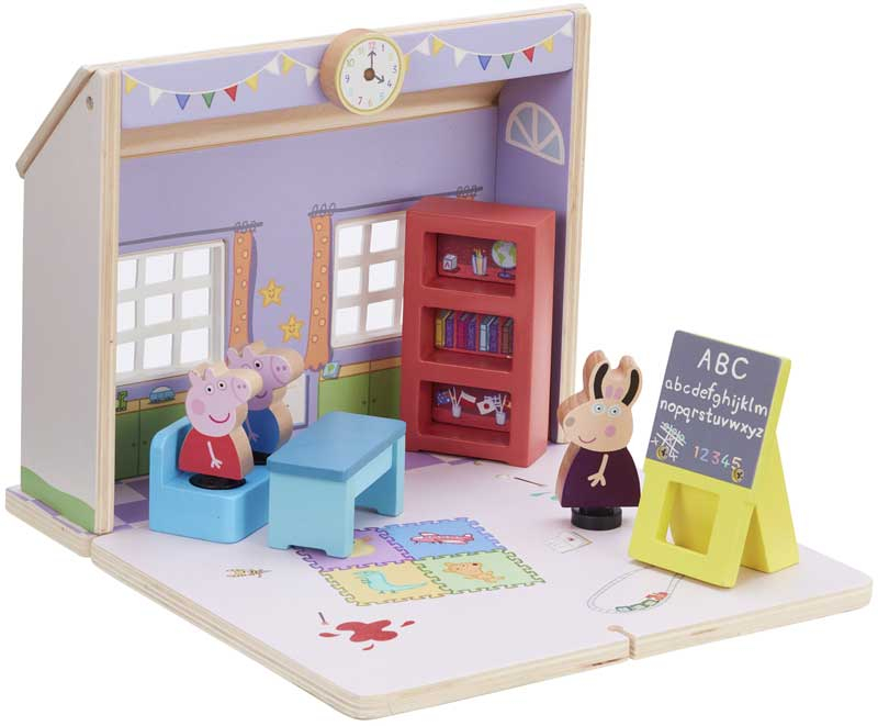 Wholesalers of Peppa Pig Wooden Schoolhouse toys