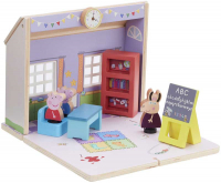 Wholesalers of Peppa Pig Wooden Schoolhouse toys image