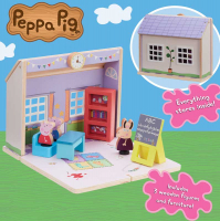 Wholesalers of Peppa Pig Wooden Schoolhouse toys image 3