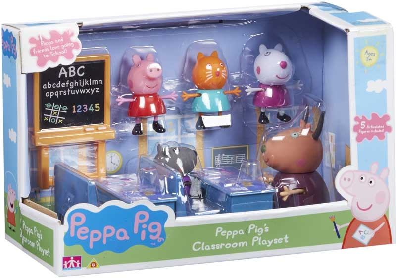 Wholesalers of Peppa Pigs Classroom toys
