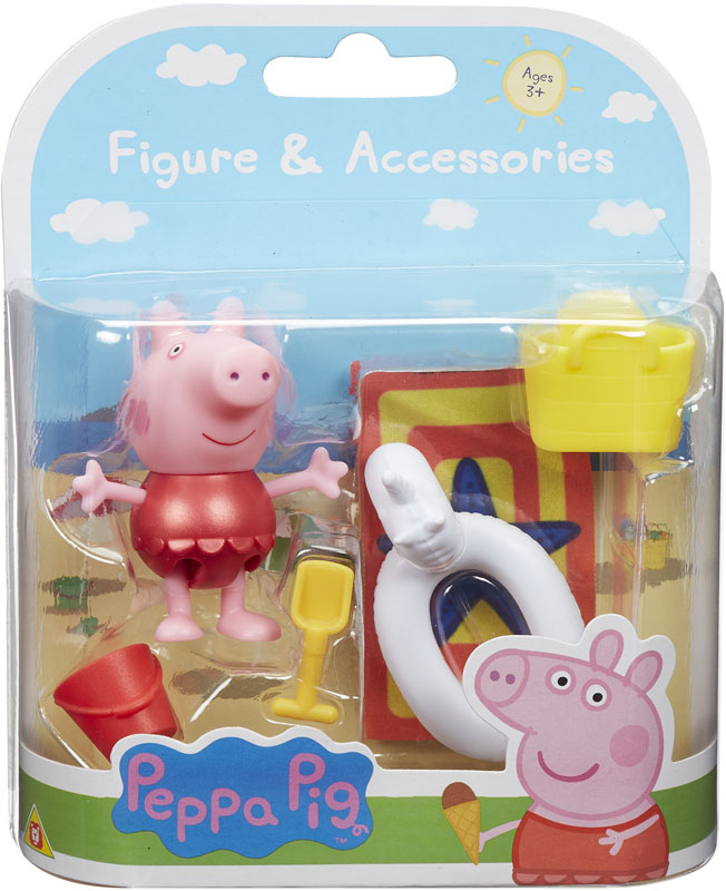 Wholesalers of Peppa Pigs Figure & Accessory Pack - Beach Theme toys