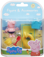 Wholesalers of Peppa Pigs Figure & Accessory Pack - Beach Theme toys image 2