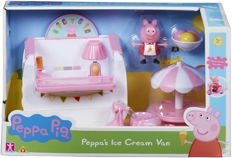 Wholesalers of Peppa Pigs Ice Cream Van toys