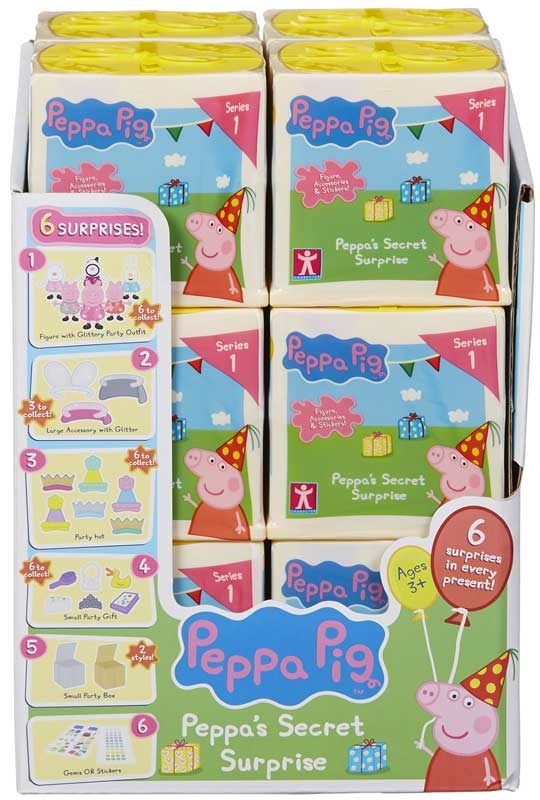 Wholesalers of Peppa Pigs Secret Surprise toys