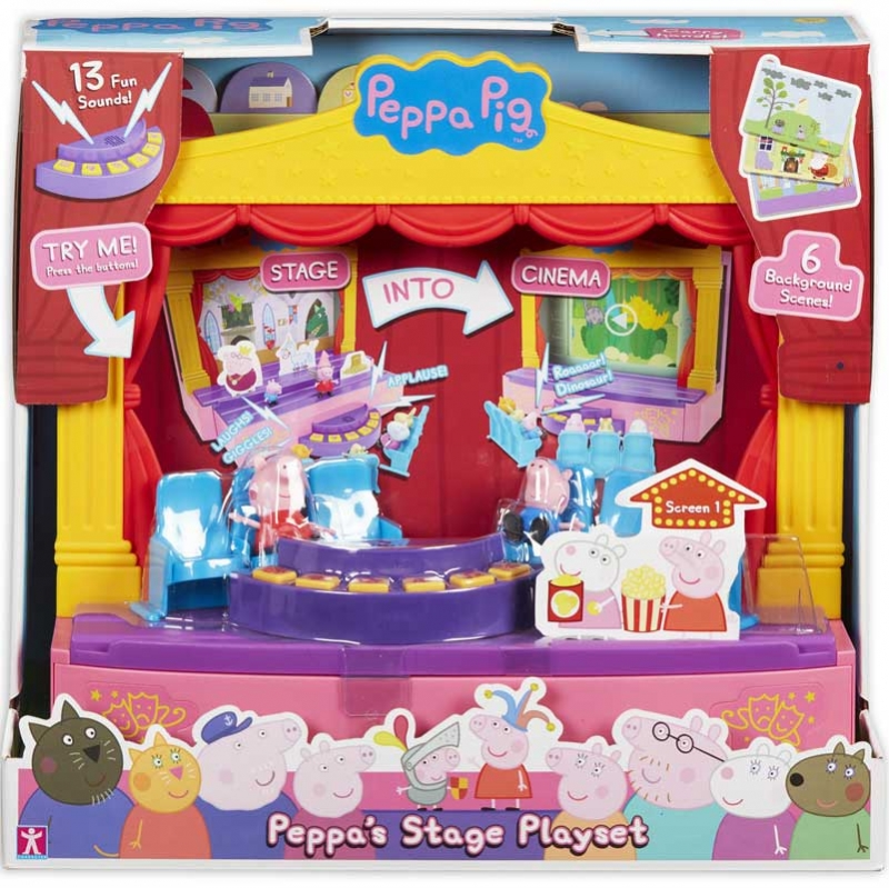 Wholesalers of Peppa Pigs Stage Playset toys