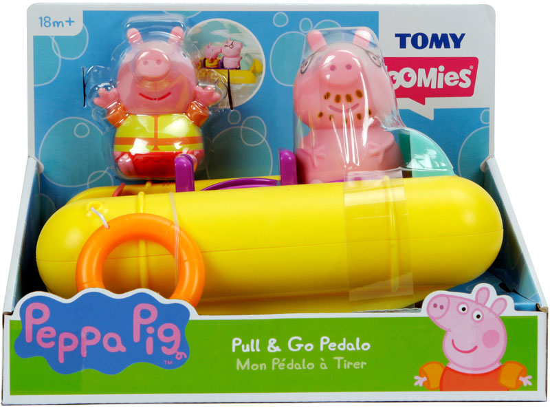 Wholesalers of Peppa Pull & Go Pedalo toys