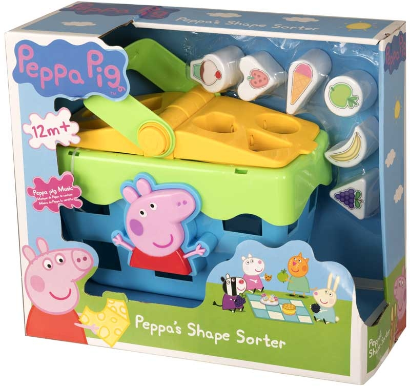 Wholesalers of Peppa Shape Sorter Picnic Set toys