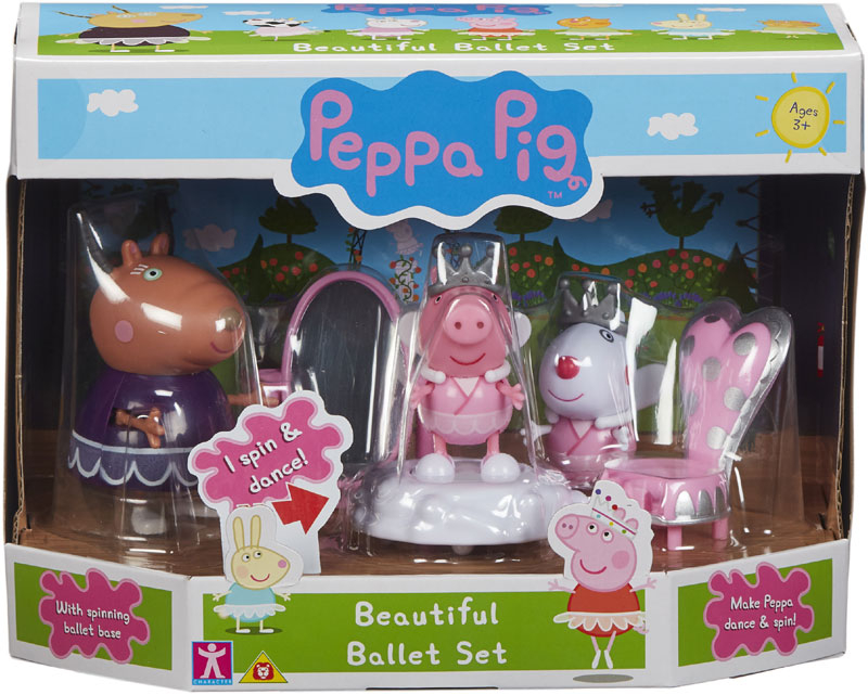 Wholesalers of Peppas Ballet School toys