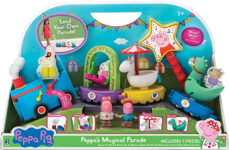 Wholesalers of Peppas Magical Parade Train toys