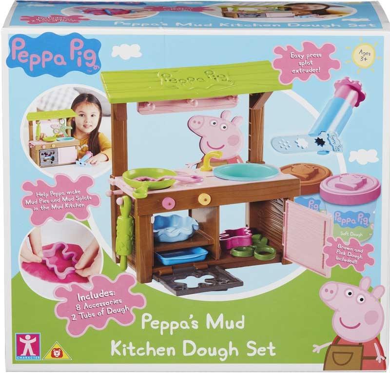 Wholesalers of Peppas Mud Kitchen Dough Set toys