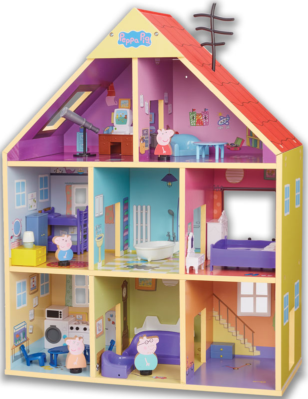 Wholesalers of Peppas Wooden Playhouse toys