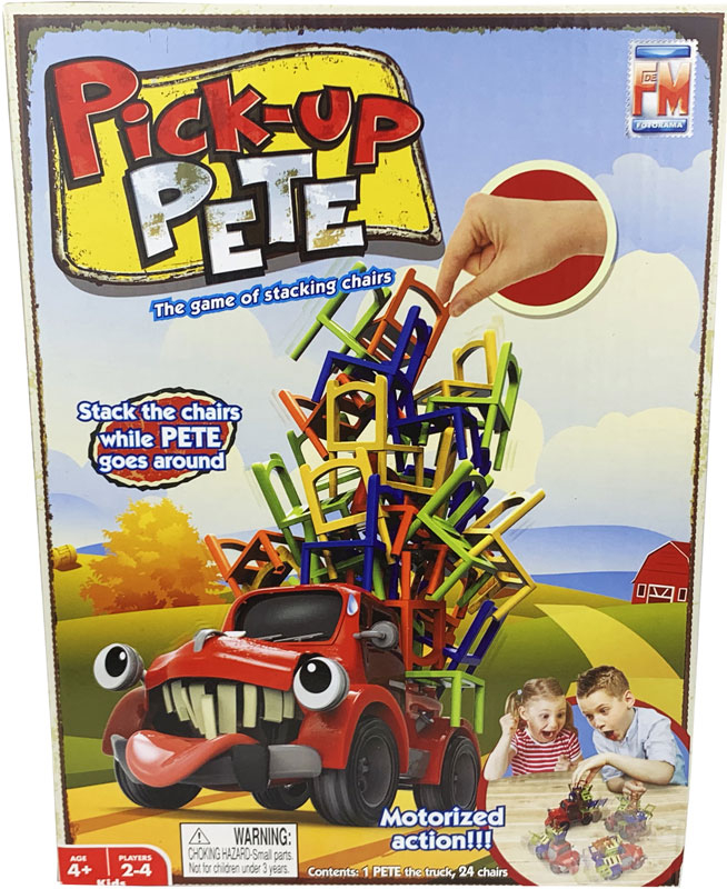 Wholesalers of Pick Up Pete toys