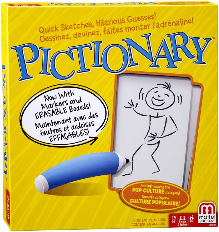 Wholesalers of Pictionary toys
