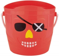 Wholesalers of Pirate Bucket Small 14.5 X 14cm toys image