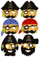 Wholesalers of Pirate Masks toys image