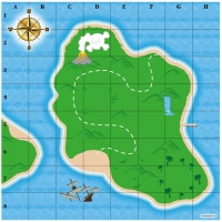 Wholesalers of Pirate Treasure Map Game toys image
