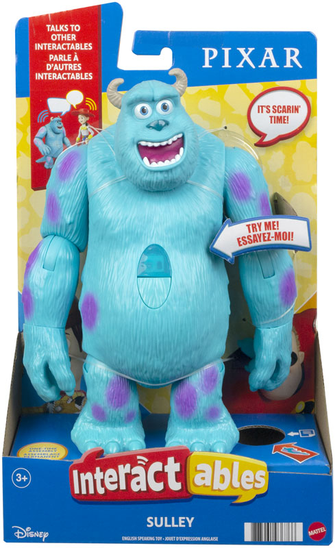 Wholesalers of Pixar Interactables Sulley Figure toys