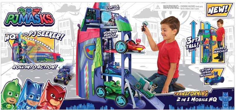 Wholesalers of Pj Masks 2 In 1 Mobile Hq toys