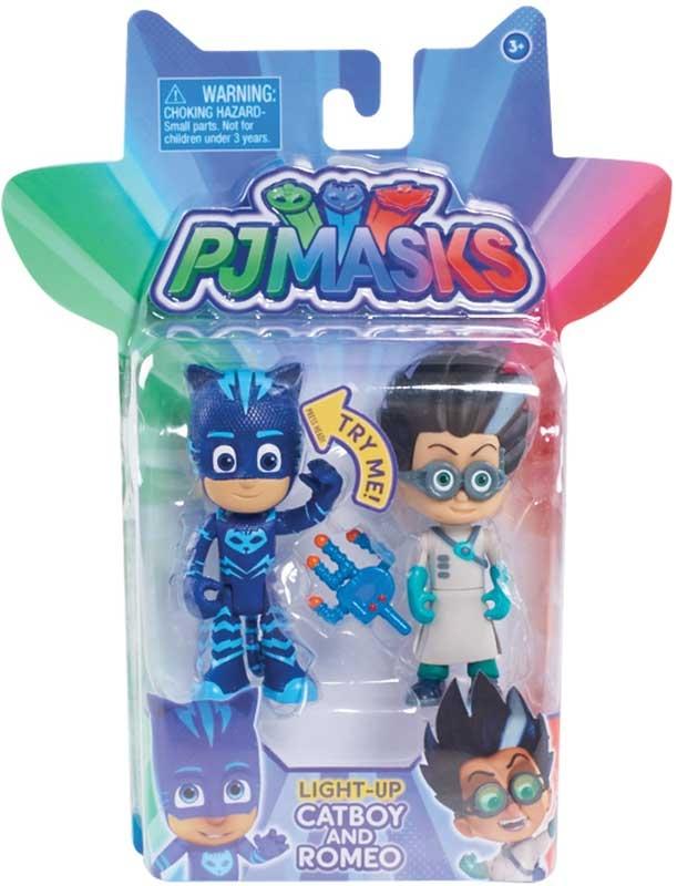 Wholesalers of Pj Masks 2 Pack Figure Set -  Cat Boy & Romeo toys