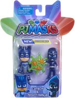 Wholesalers of Pj Masks 2 Pack Figure Set - Catboy & Night Ninja toys image
