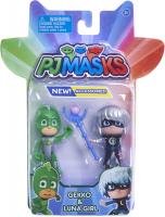 Wholesalers of Pj Masks 2 Pack Figure Set - Gekko & Luna Girl toys image