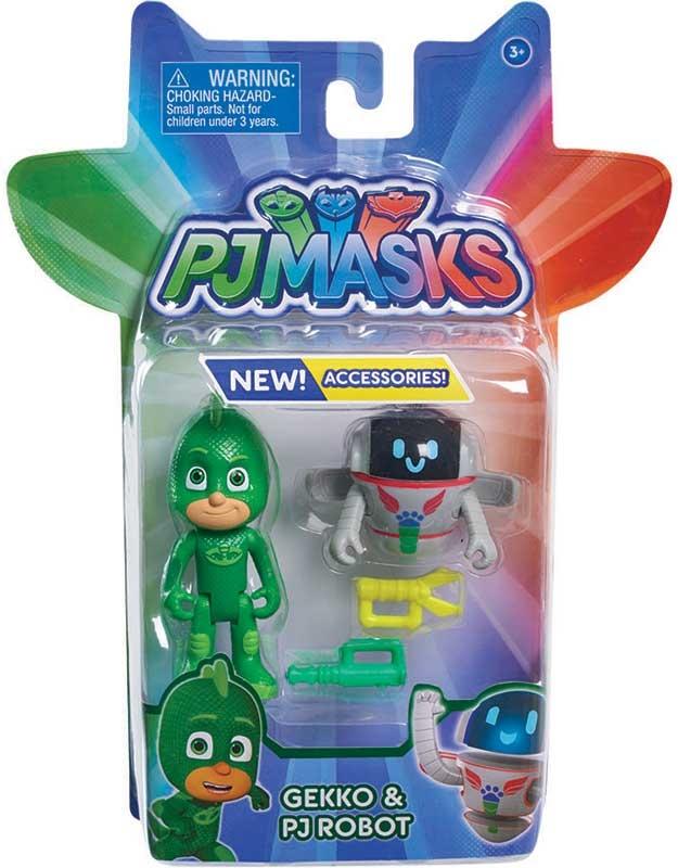 Wholesalers of Pj Masks 2 Pack Figure Set - Gekko And Pj Robot toys