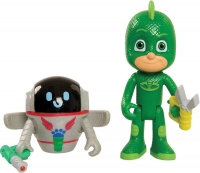 Wholesalers of Pj Masks 2 Pack Figure Set - Gekko And Pj Robot toys image 2